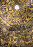 Ceiling painting of the Baptistery of San Giovanni. Florence Royalty Free Stock Photography