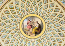 Ceiling painting in the Hermitage, St. Petersburg Stock Images