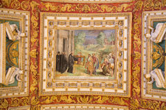 Ceiling Painting in Vatican Royalty Free Stock Images