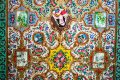 Ceiling paintings in Qavam (Ghavam) House Royalty Free Stock Image
