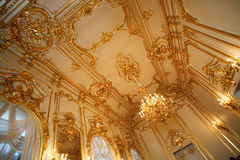 Ceiling in the palace Royalty Free Stock Photos