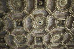 Ceiling in Palazzo Grassi stock photo