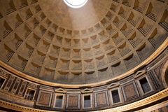 Ceiling Of The Pantheon Stock Images