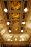 Ceiling of the parliament building Royalty Free Stock Photo