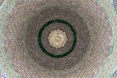 Ceiling Pattern Of The Dome Of The Chain Stock Photo