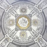 Ceiling Pattern At The Opera Royalty Free Stock Image
