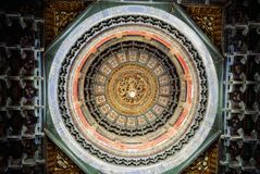 Ceiling Of Pavilion In The Forbidden City Stock Photo