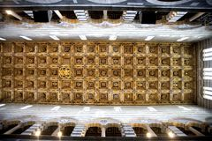 Ceiling Of Pisa Duomo Royalty Free Stock Photos