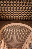 Ceiling of the Plaza de Espana Building Royalty Free Stock Images