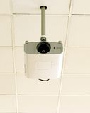 Ceiling projector. Image of university ceiling projector Royalty Free Stock Image