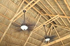 Ceiling rafters Royalty Free Stock Image