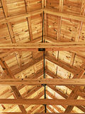 Ceiling Rafters Stock Image