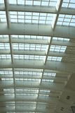 Ceiling of Railway Station Architecture Stock Photo