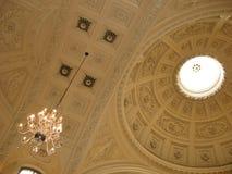 Ceiling of Roman Bath, England Stock Photos