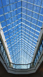 Ceiling Roof Interior Mall Shopping Center. Interior image of a roof from inside a shopping centre Royalty Free Stock Photography
