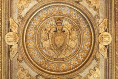 Ceiling of a room in the Louvre museum Stock Photo