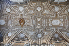 The ceiling of Saint Peters Basilica Royalty Free Stock Photography