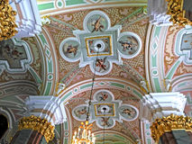 Ceiling of Saints Peter and Paul Cathedral Stock Images
