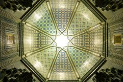 Ceiling in Samarkand Royalty Free Stock Photography