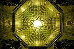 Ceiling in Samarkand Stock Images