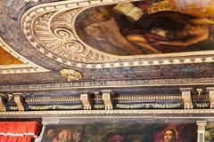 Ceiling of Scuola di San Giorgio degli Schiavoni Stock Images