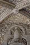 Ceiling of Sintra Pena Palace, Portugal Stock Image