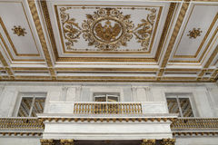 Ceiling of St Georges Hall Stock Image