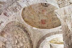 Ceiling in St. Nicholas church Royalty Free Stock Photo