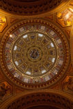 Ceiling of St Stephen's Basilica, Budapest Stock Images