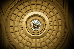 Ceiling station Barcelona Stock Images