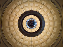 Ceiling station de franca barcelona. The ceiling of the trainstation de franca barcelona, Spain Royalty Free Stock Photo