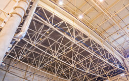 Ceiling of storehouse Royalty Free Stock Photography