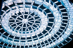 Ceiling structure Stock Images