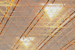 Ceiling structure Royalty Free Stock Photo