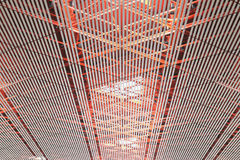 Ceiling structure stock photography