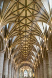 Ceiling of Tewkesbury Abbey Stock Photo