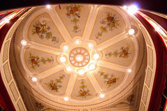 Ceiling in theater Royalty Free Stock Photos