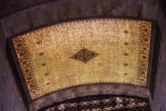 Ceiling tile detail at mausoleum of Mustafa Kemal Atatürk Stock Images