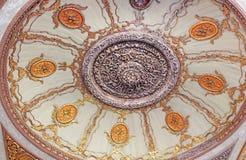 Ceiling of Topkapi Palace,Turkey Stock Photo