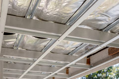 Ceiling under construction Royalty Free Stock Photography