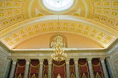 Ceiling in US Capitol Washington Stock Photos