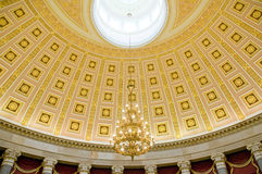 Ceiling in US Capitol Washington Stock Photo