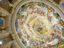 Ceiling of Valencia Cathedral. Spain Royalty Free Stock Images