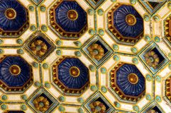 The ceiling of 'Varkert' bazaar Royalty Free Stock Photos