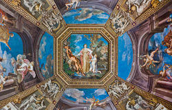 Ceiling in Vatican Museum Royalty Free Stock Images