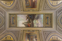 Ceiling in the Vatican Royalty Free Stock Image