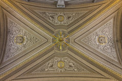 Ceiling in the Vatican Royalty Free Stock Photography