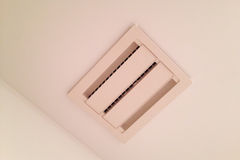 Ceiling vent for bathroom exhaust fan Stock Image