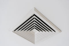 Ceiling ventilation of air condition Stock Photography