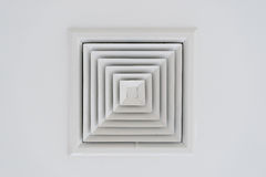 Ceiling ventilation of air condition Royalty Free Stock Image